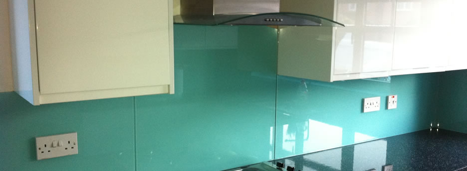 Kitchen Splashback - Brownhills Glass