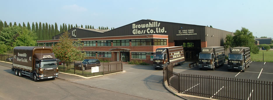 Brownhills Glass - factory premises